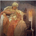 Mucha, Alfons - Woman With a Burning Candle.jpg