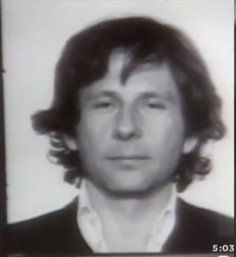Mugshot of Polanski following his 1977 arrest Mug shot of Roman Polanski.png