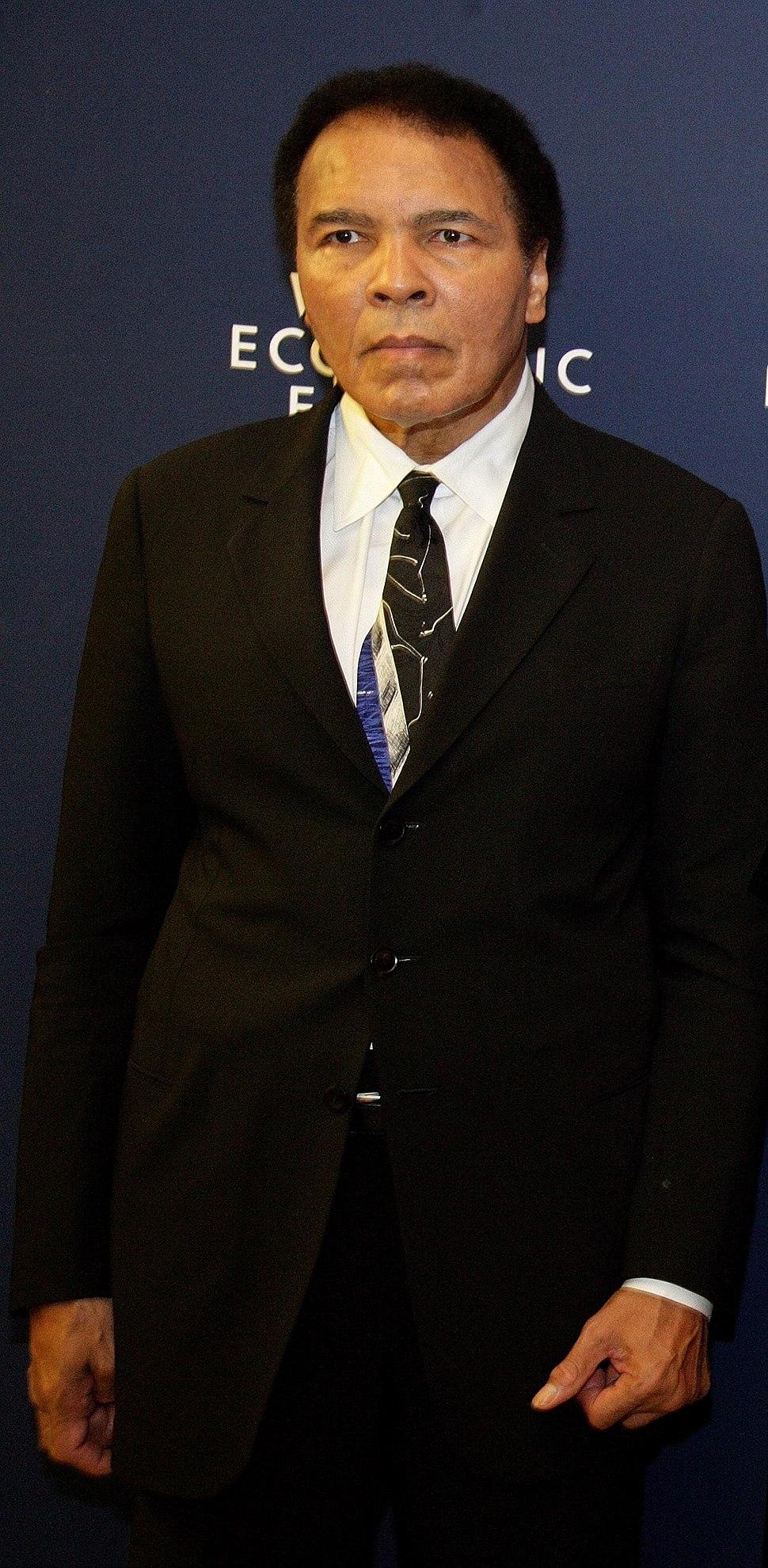 Muhammad Ali, Davos