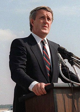 1988 Canadian federal election - Image: Mulroney