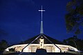Munyonyo Martyrs Shrine at night.jpg