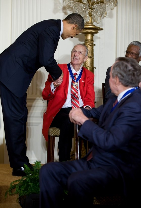 Musial and Obama Medal of Freedom