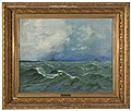 Myrskyävä meri, Painting by Elias Muukka.jpg