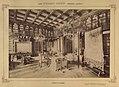 Nádasdladány, Nádasdy-kastély, könyvtár. A felvétel 1895-1899 között készült. - Fortepan 83325.jpg