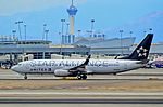 N26210 Star Alliance (United Airlines) 1998 Boeing 737-824 C-N 28770 (9609220781).jpg