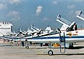NASA T-38 jets at Ellington Field Texas.jpg