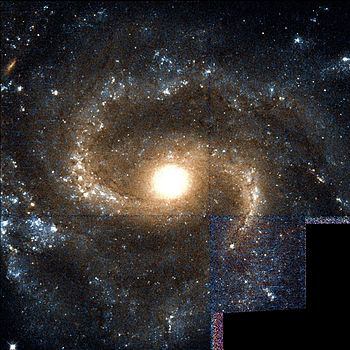 English: NGC 1042 spiral galaxy in the constel...
