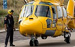 NHV Helicopters Netherlands Coastguard AS365 Dauphin (35801763775).jpg