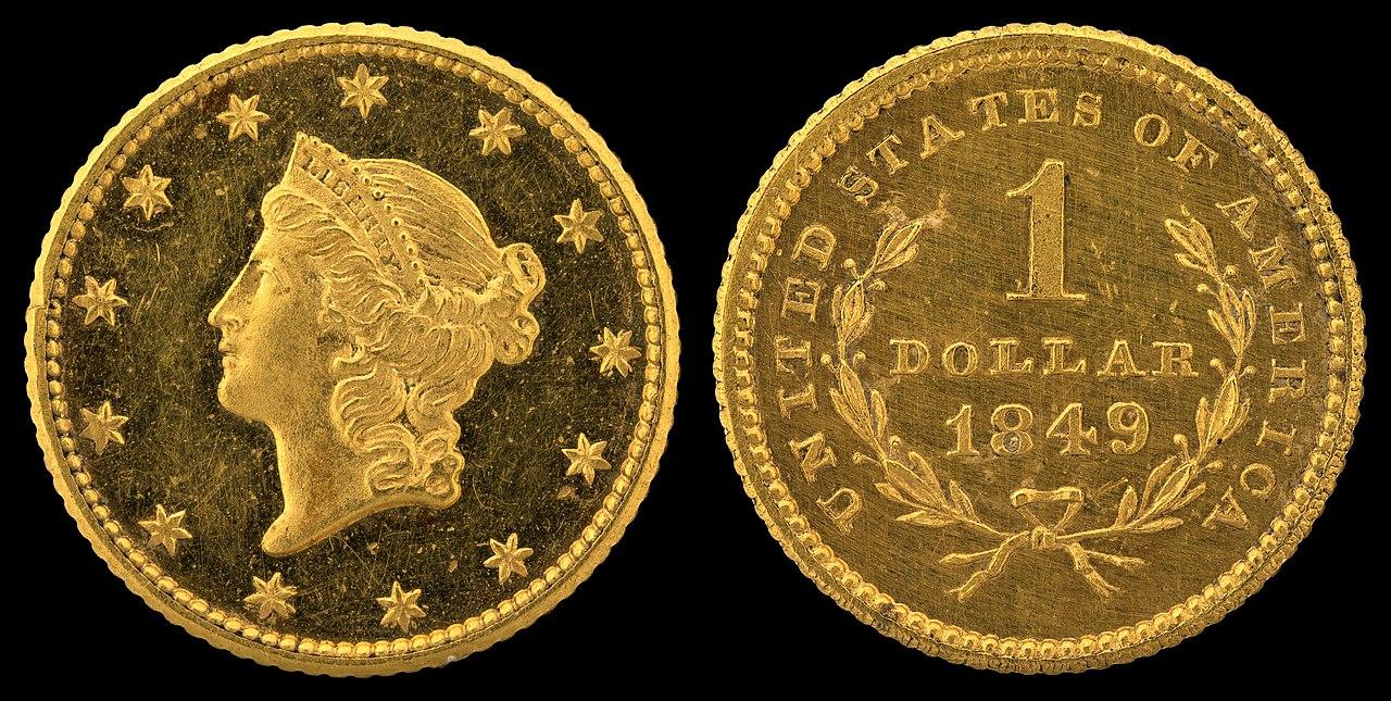 File Nnc Us 1849 G 1 Liberty Head Ty1 Jpg Wikipedia
