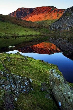 Nantlle Valley - Nantlle Valley at sunset