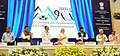 Narendra Modi unveiling the Logo & Tagline of AMRUT (Atal Mission for Rejuvenation and Urban Transformation), at the launch of the Smart Cities Mission.jpg