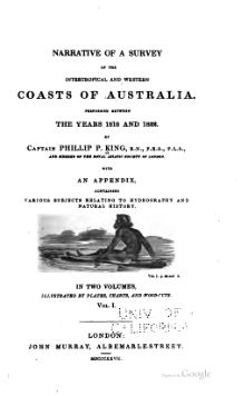 Narrative of a survey of the intertropical and western coasts of Australia, Volume 1.djvu