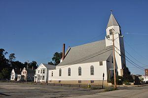 St. Stanislaus Parish, Nashua - Image: Nashua NH Corpus Christi Chapel