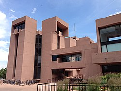 National Center for Atmospheric Research (NCAR) Mesa Laboratory in Boulder, Colorado, USA in 2014.jpg