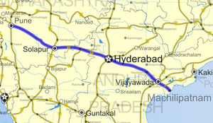 National Highway 65 (India) - Image: National Highway 9 (India)