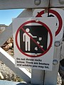 Navajo Bridge - Colorado River - Warning Sign - panoramio.jpg
