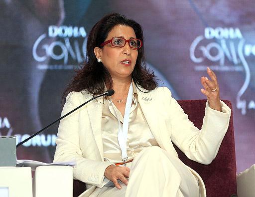 Nawal El Moutawakel 2012