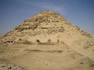 Second pyramid to be built at the necropolis site of Abusir