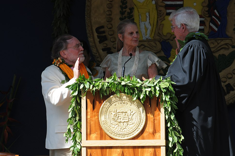 Neil Abercrombie sworn in as Governor of Hawaii