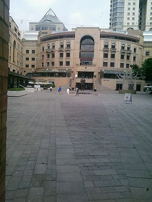 Nelson Mandela Square - The Square in 2015
