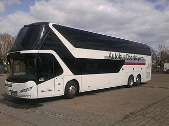 Neoplan Skyliner - Image: Neoplan Skyliner 2011 Autobus Oberbayern