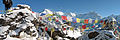 Nepal - Sagamartha Trek - Cho Oyu and prayer flags from Gokyo Ri (493502192).jpg