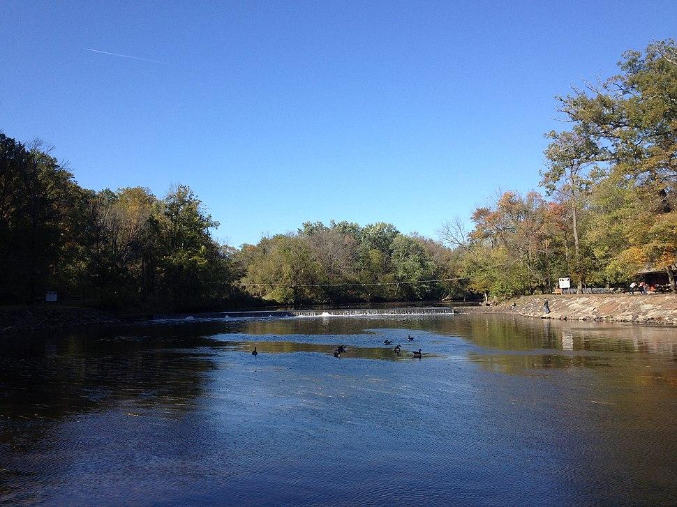 Neshaminy Creek in Tyler State Park
