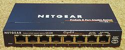 Gigabit Switch Wiki on En Switch Tillverkad Av Netgear