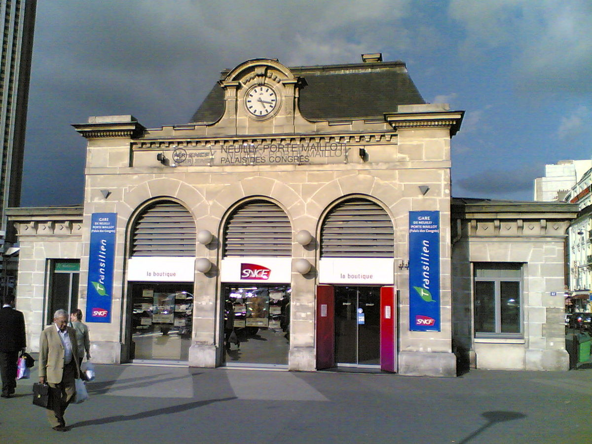 gare de neuilly porte maillot wikip dia. Black Bedroom Furniture Sets. Home Design Ideas
