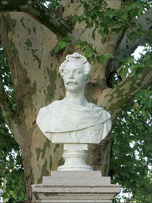 Duke Charles of Mecklenburg - A statue of Duke Charles in Neustrelitz