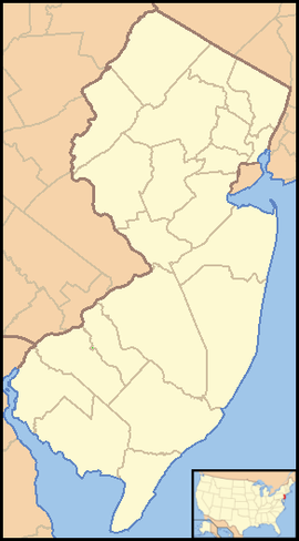 Trenton is located in New Jersey