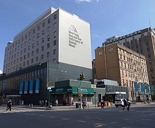 New York Eye and Ear Infirmary Hospital in New York, United States