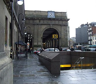 Central Station Metro station - Image: Newcastle Central station geograph.org.uk 1111177