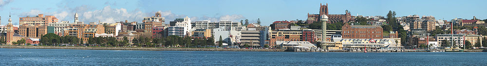Newcastle foreshore