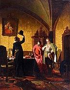 Newrew - False Dimitry I swearing Sigismund III introduction of catholicism in Russia