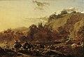 Nicolaes Berchem - Berglandschap met herders en vee bij een doorwaadbare plaats.jpg