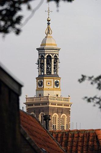 Pieter and François Hemony - Nieuwe Toren in Kampen just after the restoration in 2011