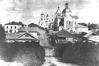 Nevel (town) - Nevel in 1870