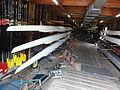Nijmegen. boten in botenhuis roeivereniging Phocas.JPG