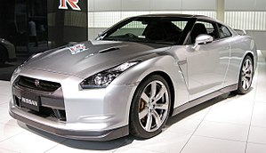 Nissan GT-R photographed in Nissan Gallery (Ch...
