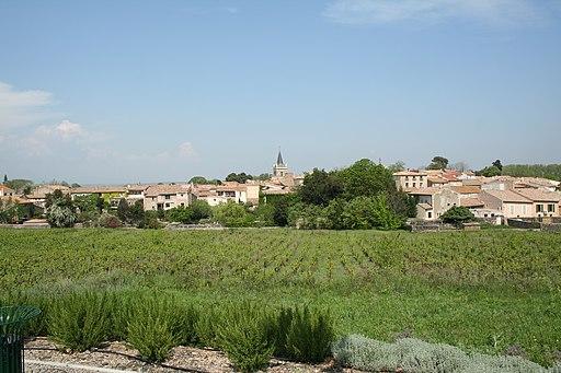 Nizas dans l'Herault France