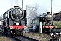 No.70013 Oliver Cromwell Britannia Class 7MT & no.1744 (BR No. 69523) GNR Class N2 (6779047411) (2).jpg