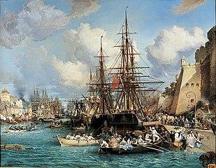 Le Port de Brest en 1864