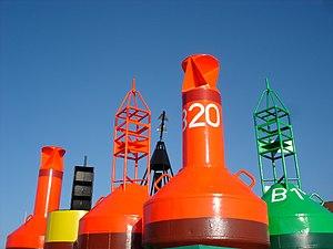 Buoy - Image: Norderney Bojen
