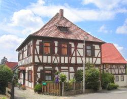Fachwerk en Nordheim (Thüringen)