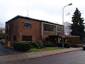 Norway–Sweden relations - Image: Norske ambassade i Stockholm