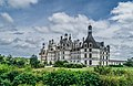 North-west facade of the Castle of Chambord 01.jpg