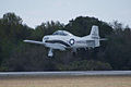 North American T-28B Trojan Marines NJ300H Landing 03 TICO 13March2010 (14598869972).jpg