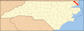 North Carolina Map Highlighting Camden County.PNG