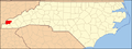 North Carolina Map Highlighting Graham County.PNG